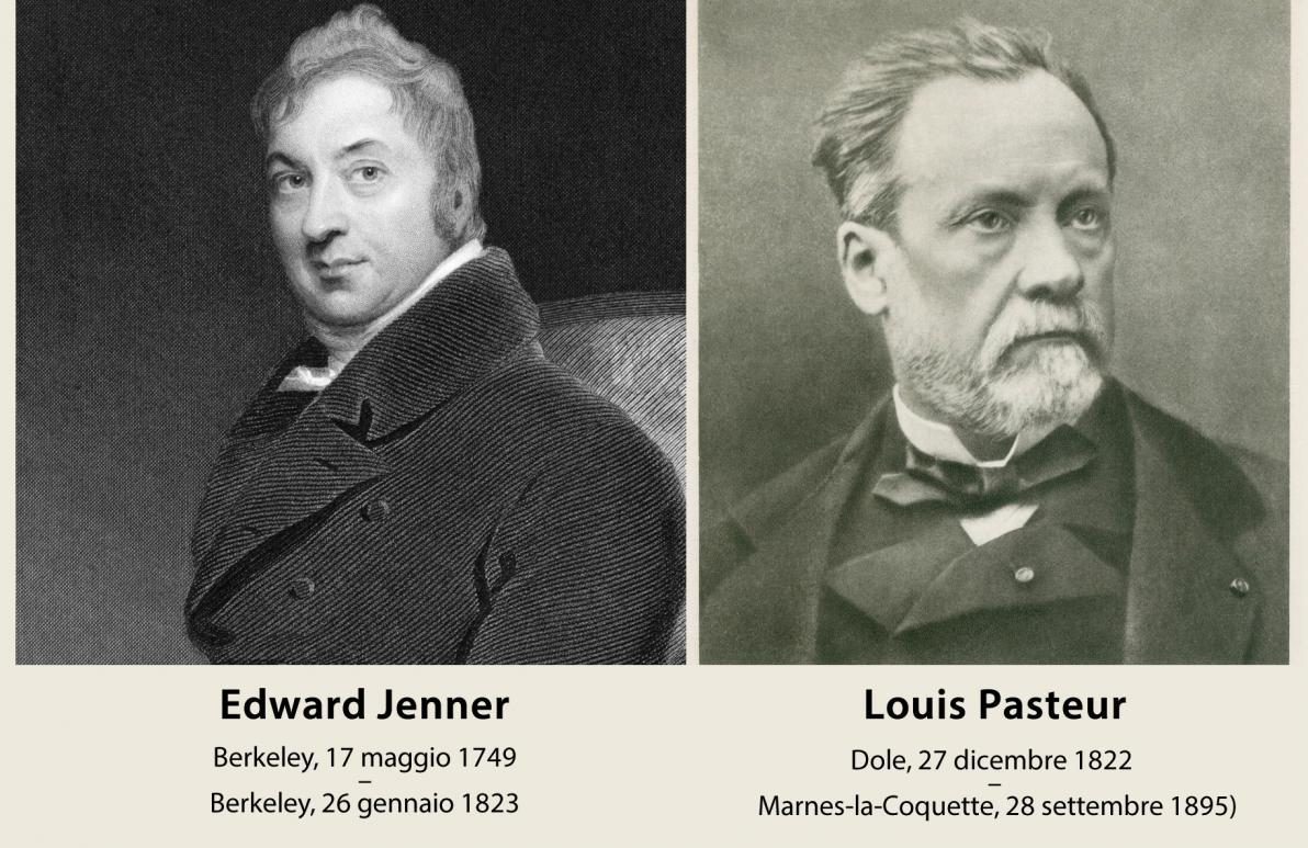 Edward Jenner e Louis Pasteur