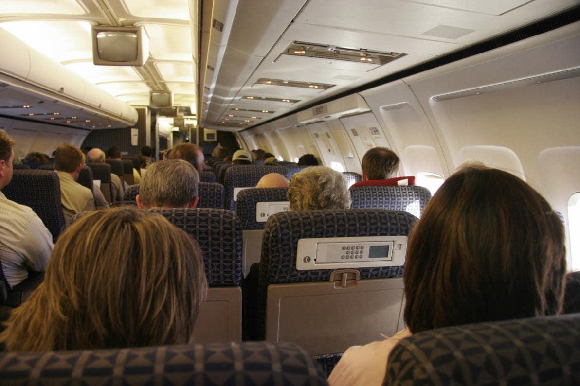 Viaggi in aereo e disidratazione