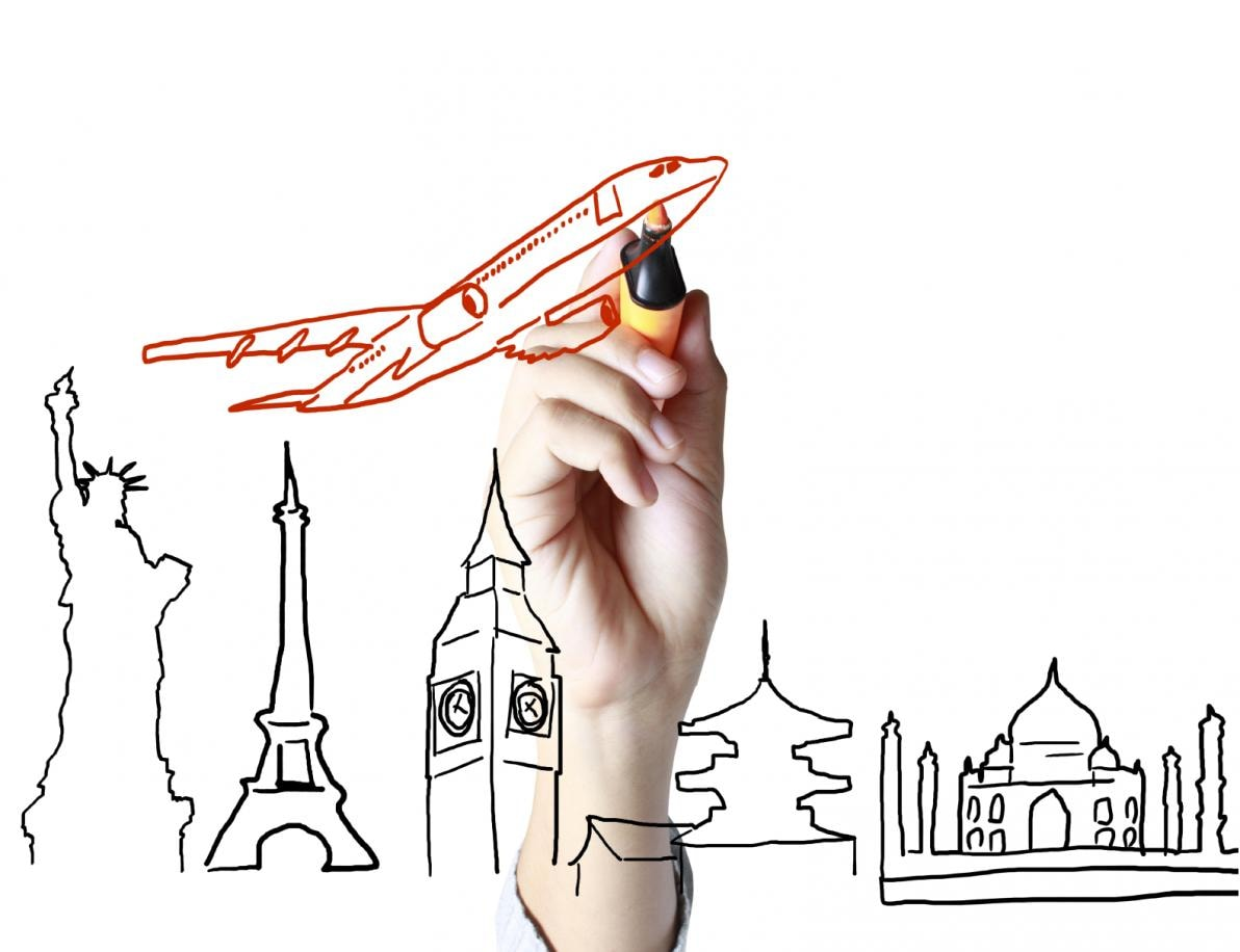 Salute e viaggi in aereo