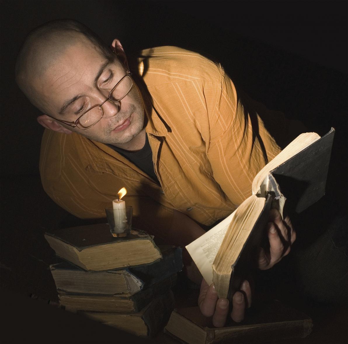 Leggere in condizioni di scarsa illuminazione