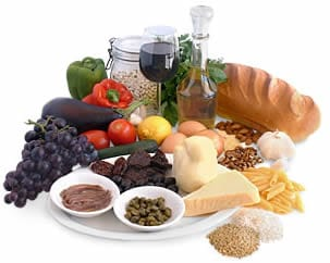 Esempio Dieta Mediterranea