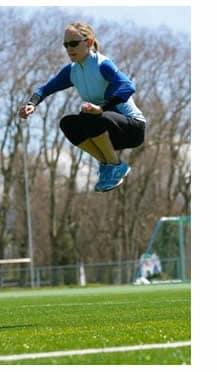 Mezzofondo atletica leggera, allenamento forza