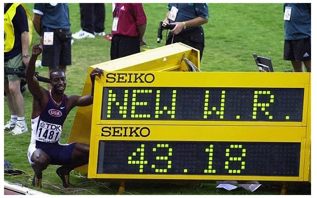 400 Metri record del mondo