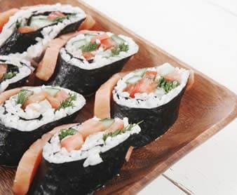 Sushi aceto di riso