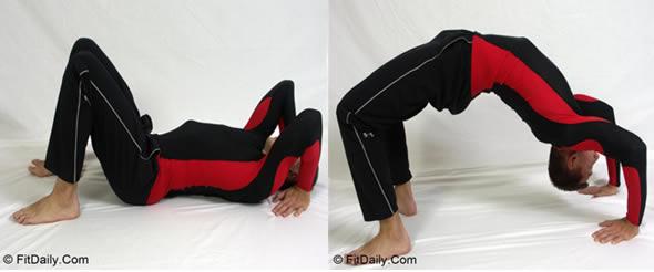 Bodyweight ponte ginnastica artistica