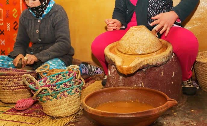 produzione olio di argan