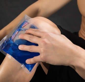 crioterapia ginocchio
