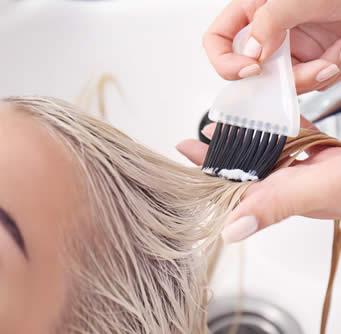 maschera capelli applicazione