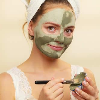 Maschera pelle grassa