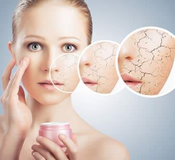 pelle secca trattamento