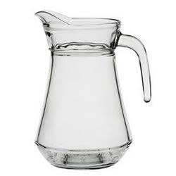 Bicchiere Caraffa di vetro