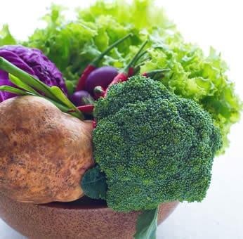 Cancro verdura dieta