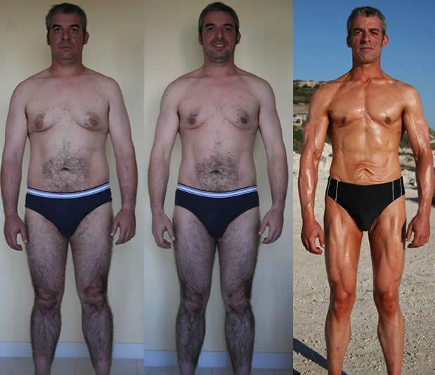 Prima e dopo Allenamento