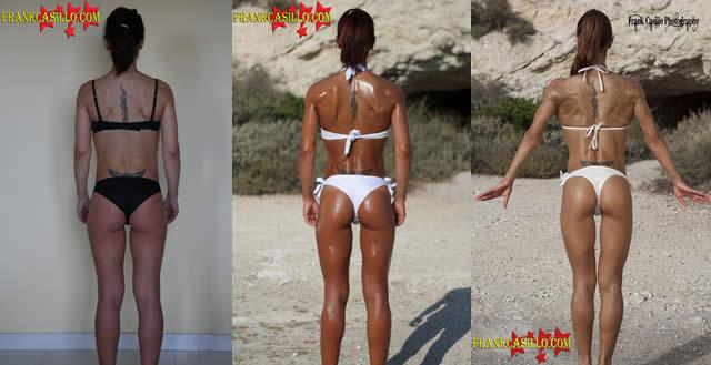 Foto trasformazione corporea