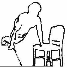 esercizio pettorali