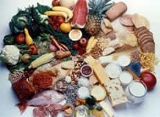 gruppi alimentari etichette