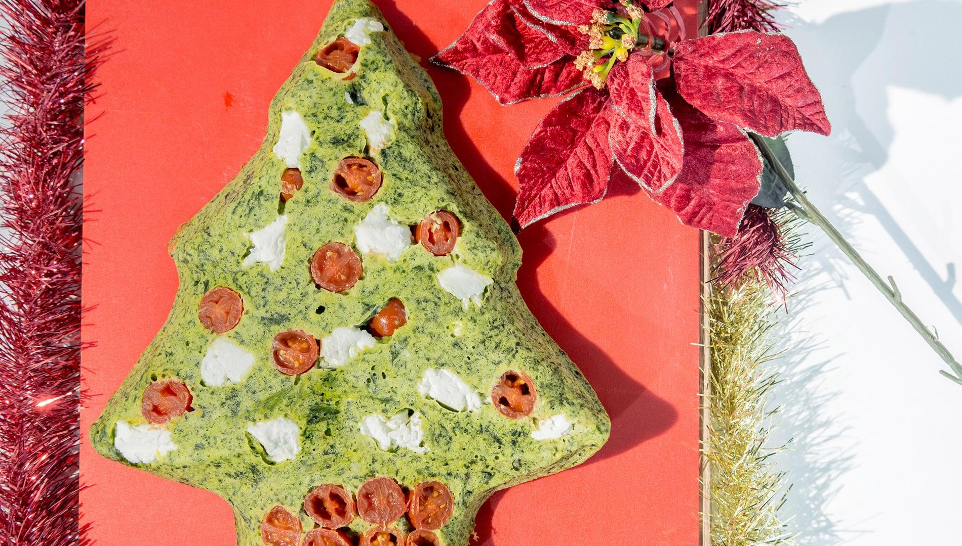 Foto Sformato Ricotta e Spinaci - Torta Salata di Natale