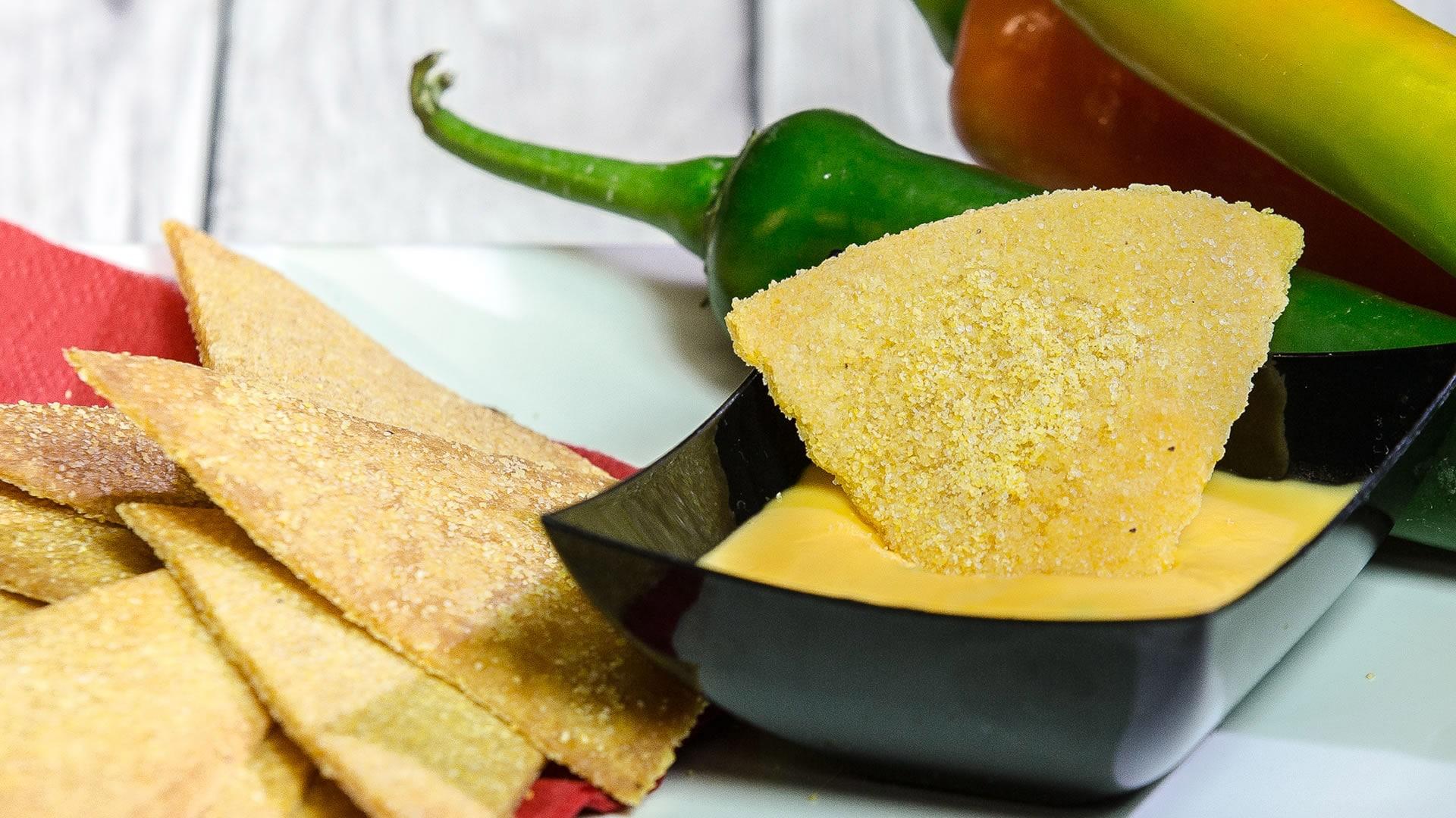 Foto Salsa Piccante al Formaggio per Nachos e Tortillas