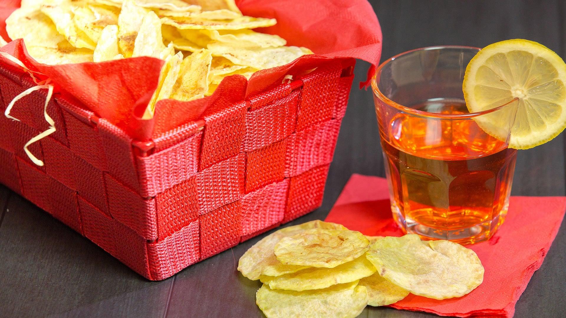 Foto Chips di Patate in 10 Minuti - Croccantissime Senza Olio
