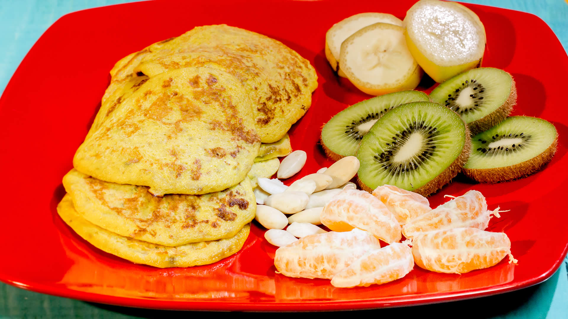 Foto Pancake 2 Ingredienti - Senza Burro, Farina, Latte, Zucchero