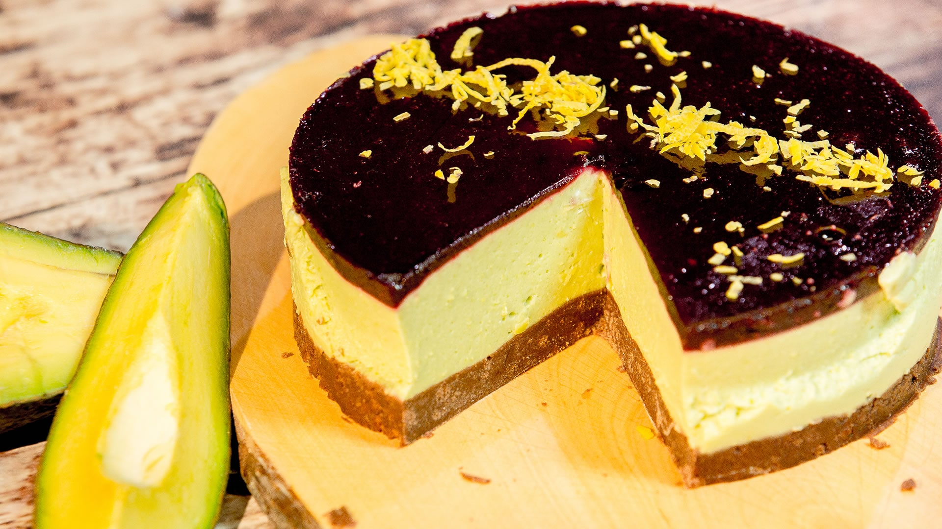 Foto Cheesecake di Avocado