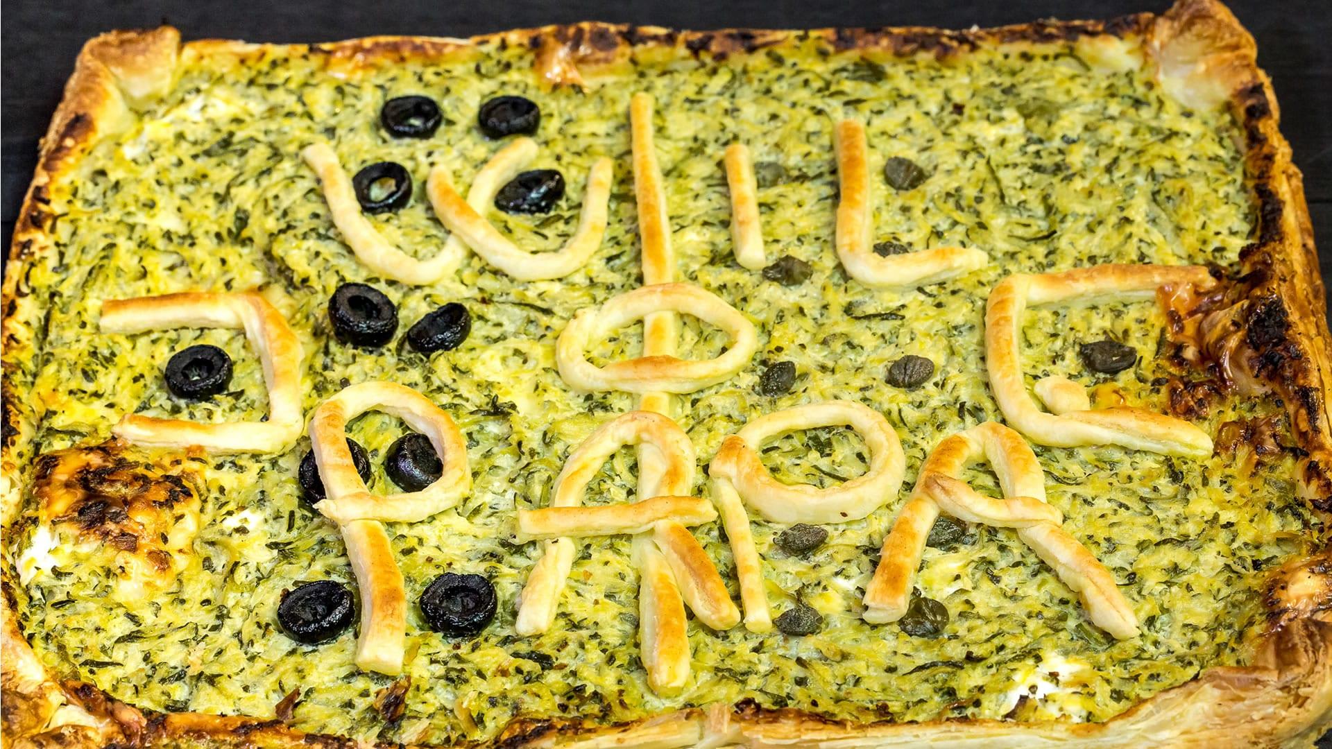 """Foto Torta Salata """"Campo da Calcio"""" per la Festa del Papà"""
