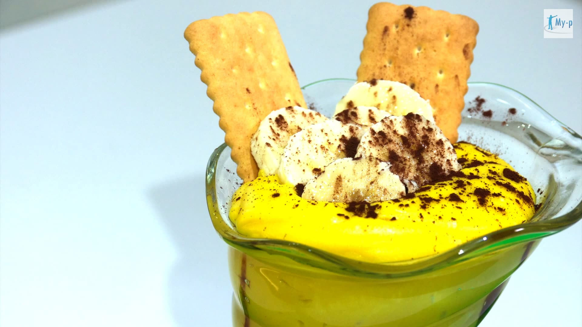 Foto Crema alla banana con latte di avena