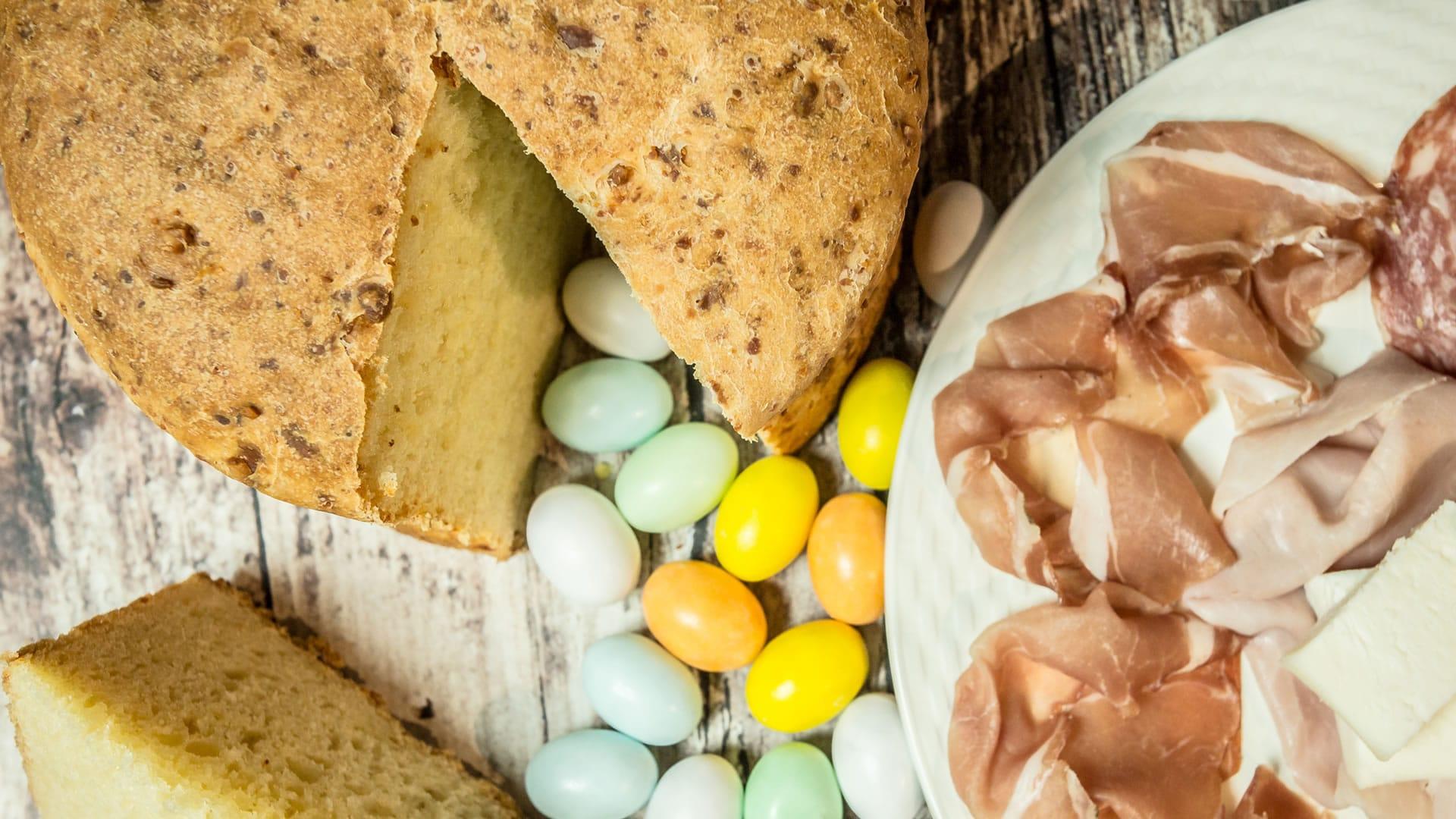 Foto Crescia - Pizza al Formaggio per Pasqua