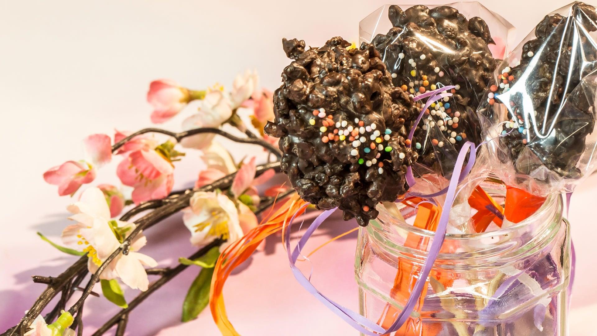 Foto Ovetti di Riso Soffiato - Lollipop