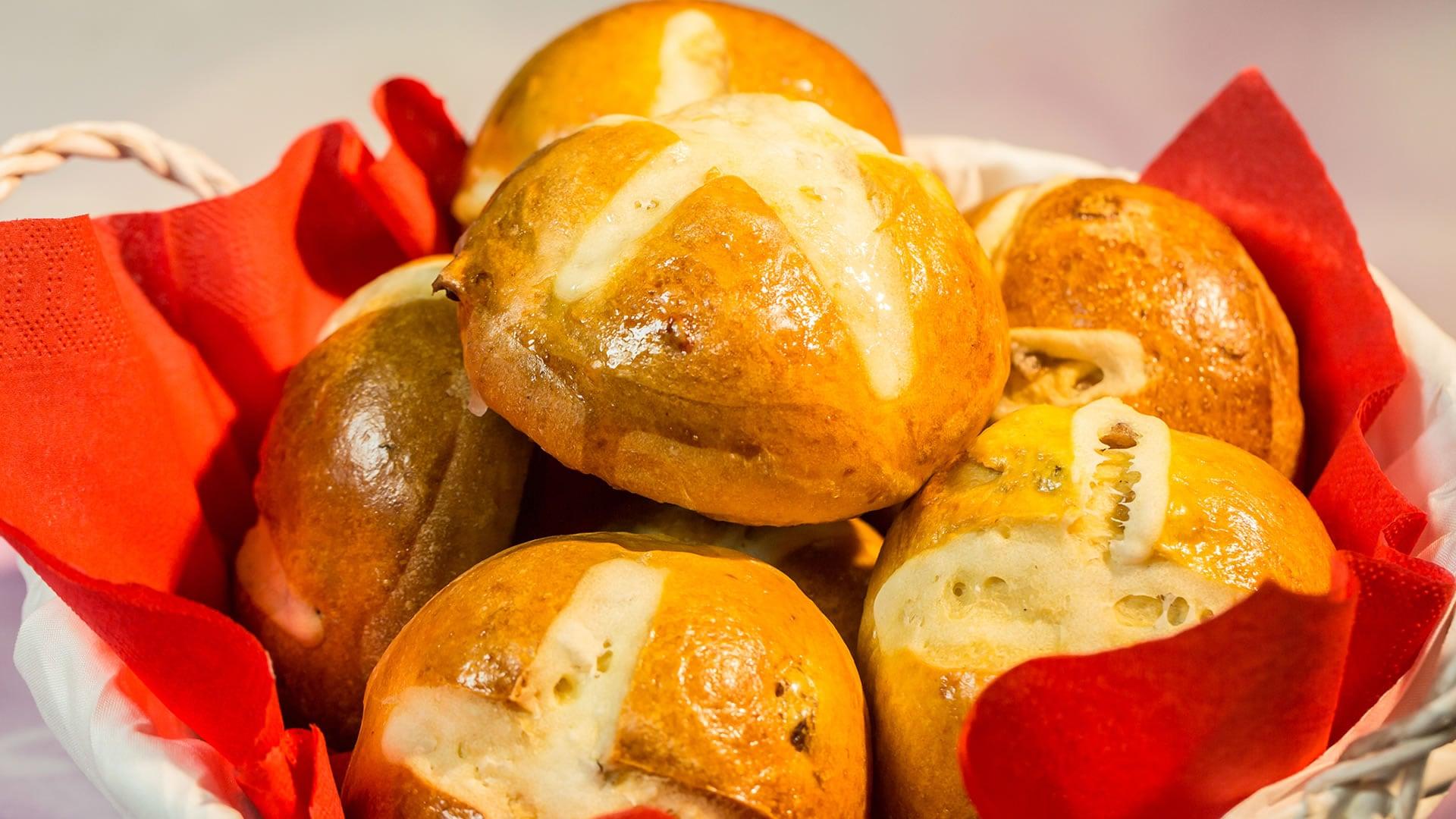 Foto Hot Cross Buns - Dolci Panini di Pasqua