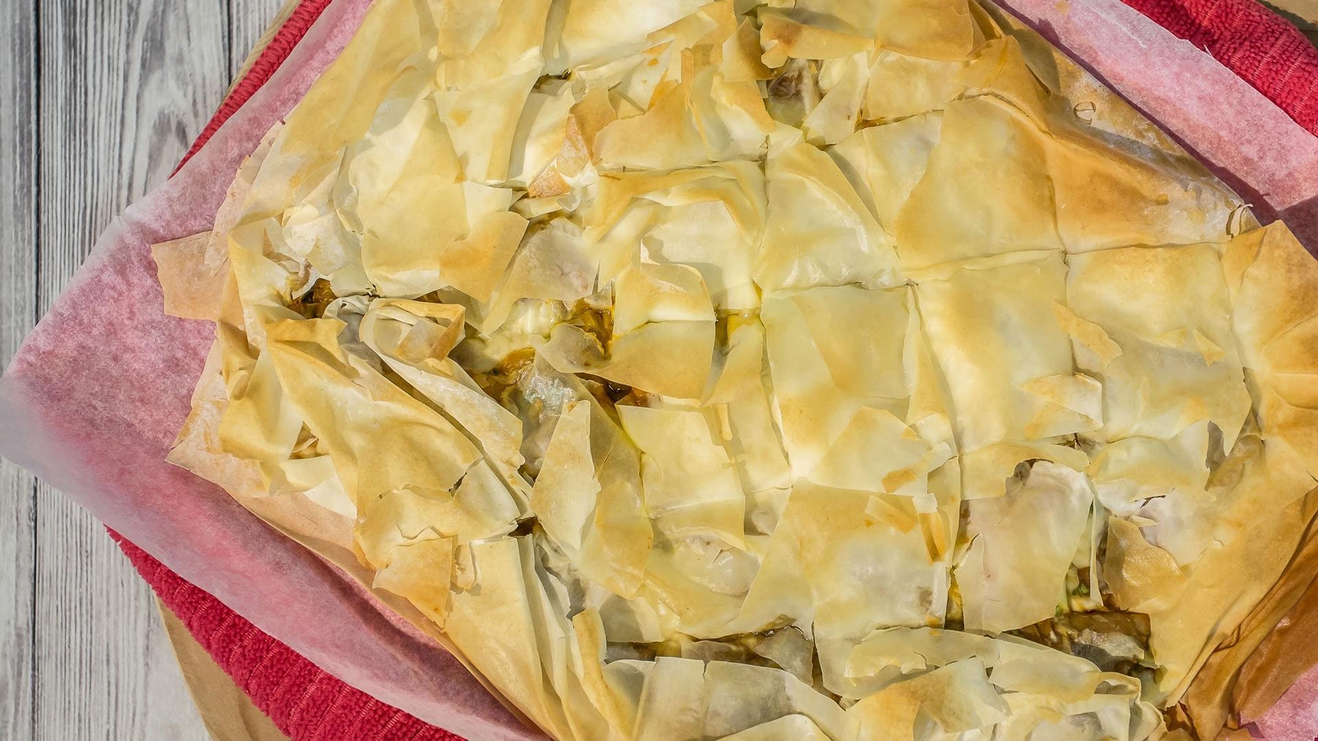 Foto Torta Salata ai Peperoni con Pasta Fillo