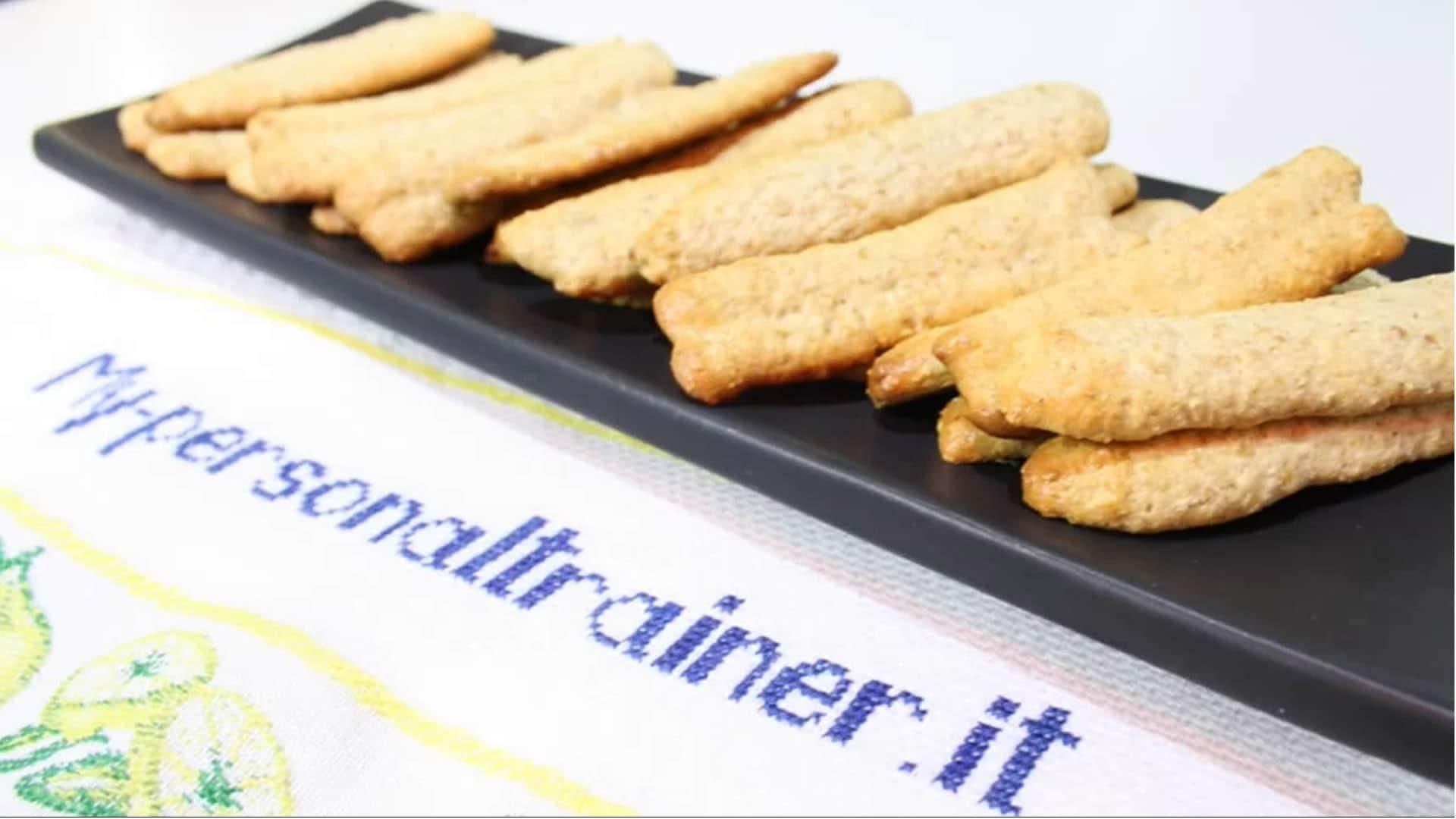 Foto Biscotti proteici DIETA A ZONA con arachidi ed avena