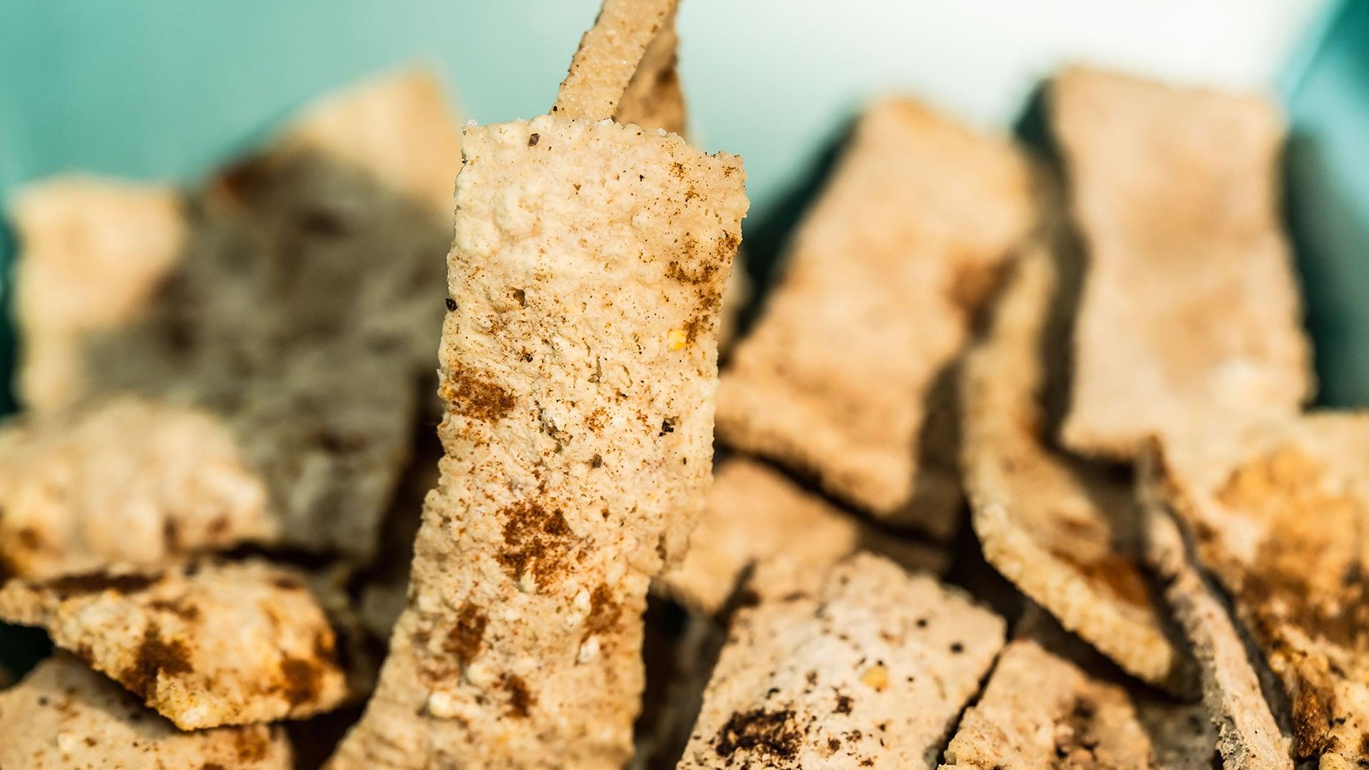 Foto Chips di Tofu al Microonde