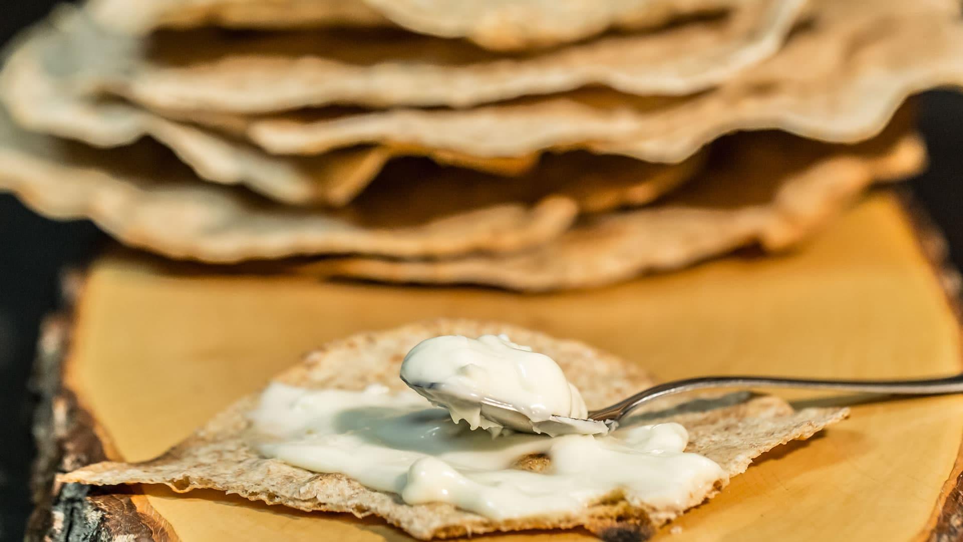 Foto Sfoglia Integrale Croccante - Chapati - Pane Indiano