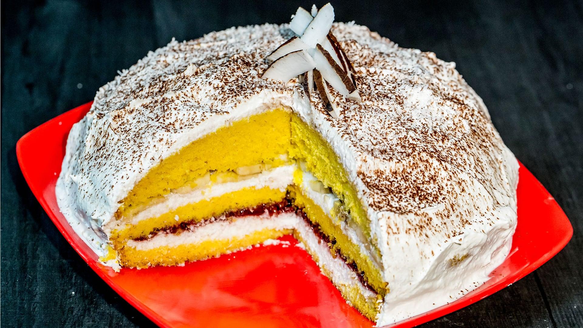 Foto Torta al Cocco e Banane