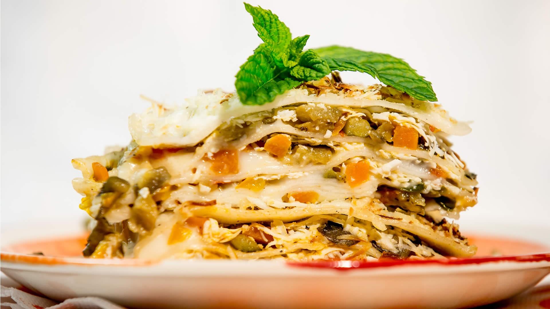 Foto Lasagne al Forno con Verdure - Senza Glutine