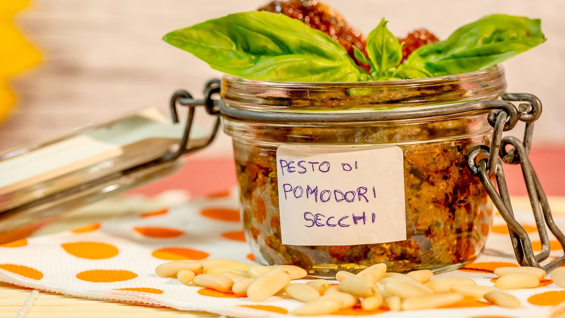 Foto Pesto di Pomodori Secchi