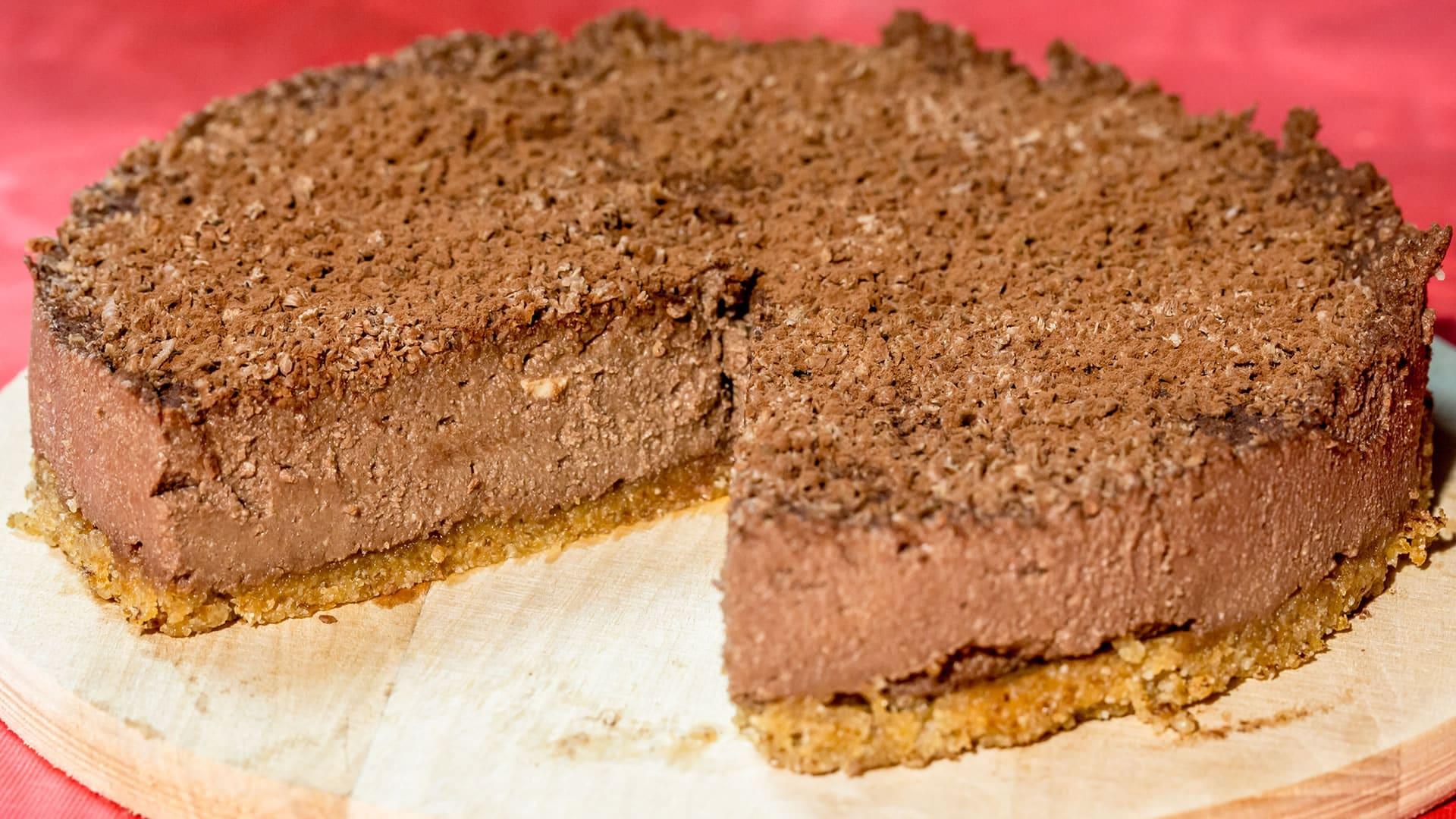 Foto Tofu Cake al Cioccolato - Senza Cottura e Senza Farina