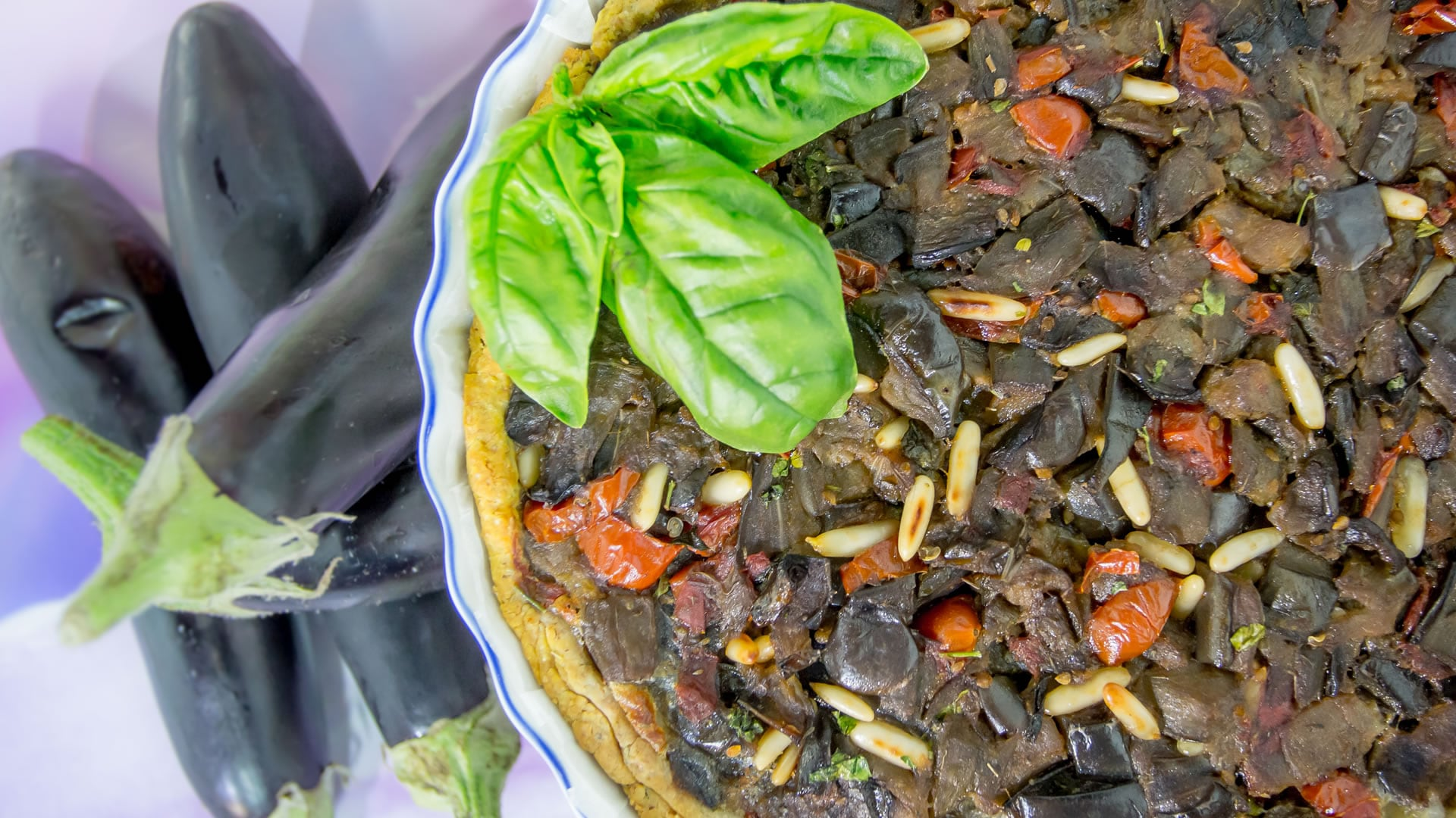 Foto Crostata Salata di Melanzane