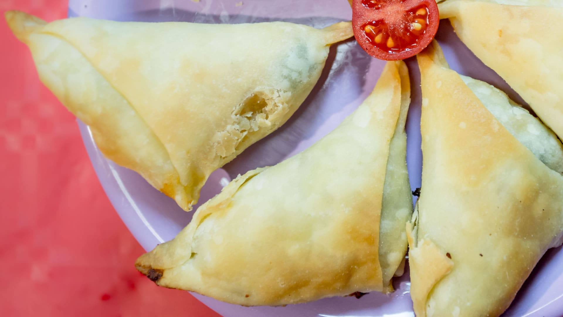 Foto Fagottini di Pasta Fillo con Zucchine e Stracchino