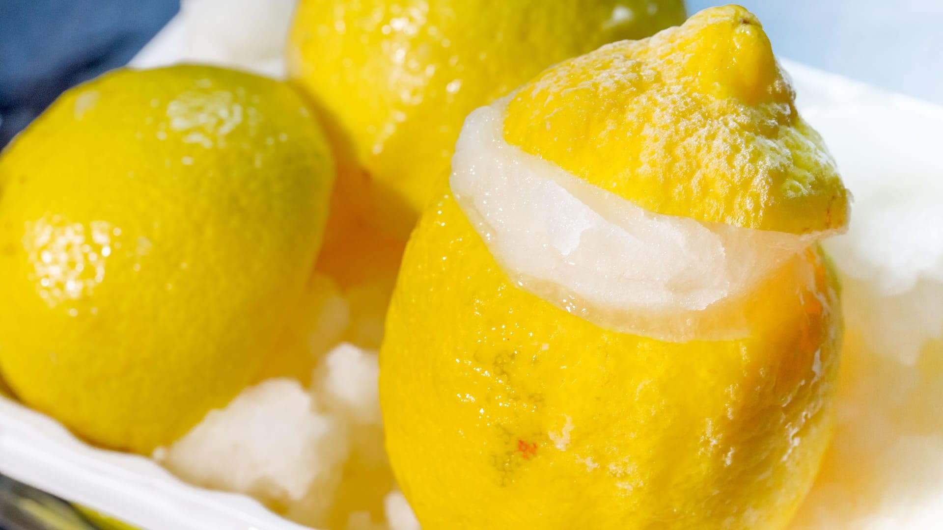 Foto Gelato al Limone e Zenzero - Senza Panna