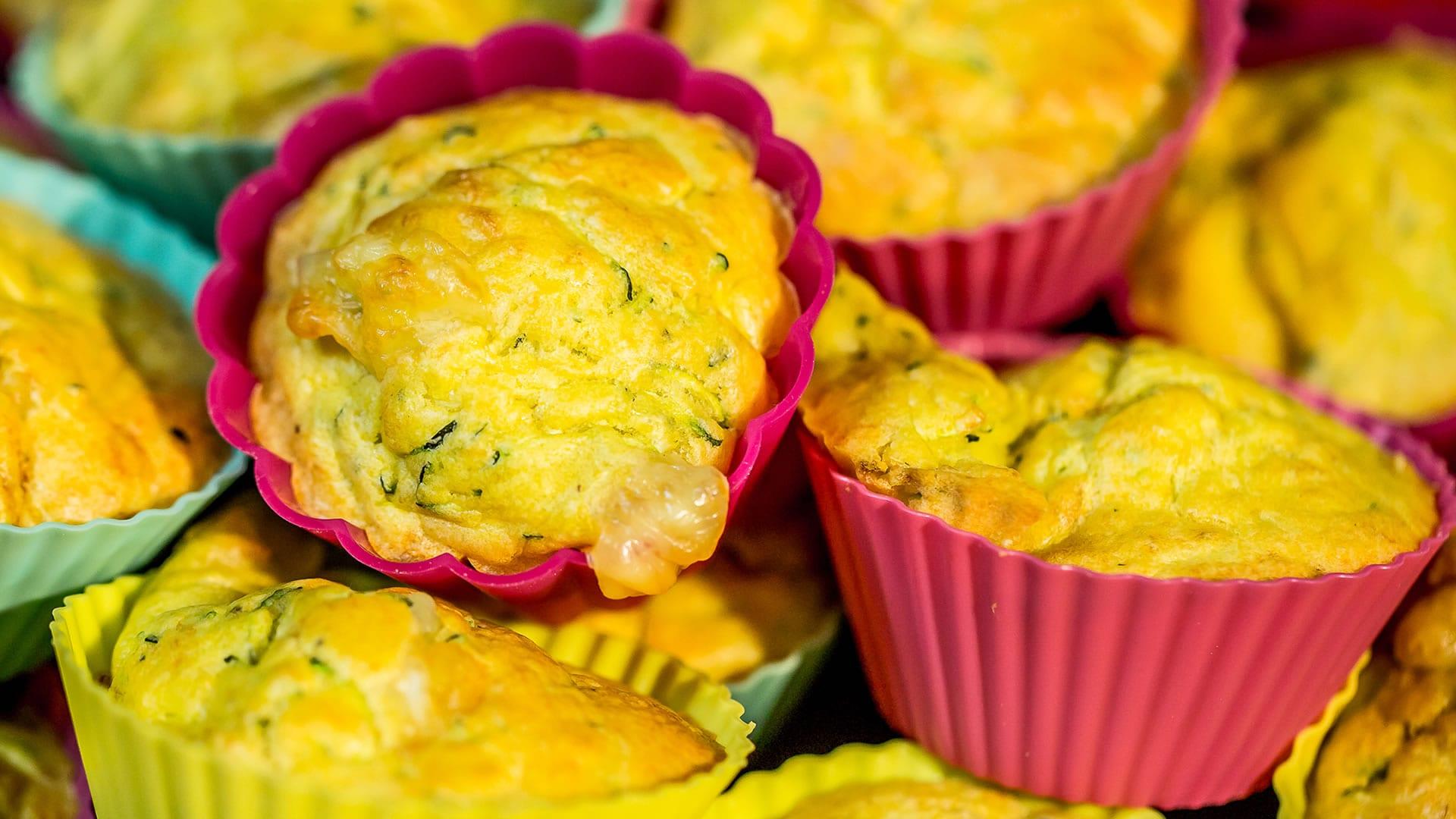Foto Muffin alle Zucchine