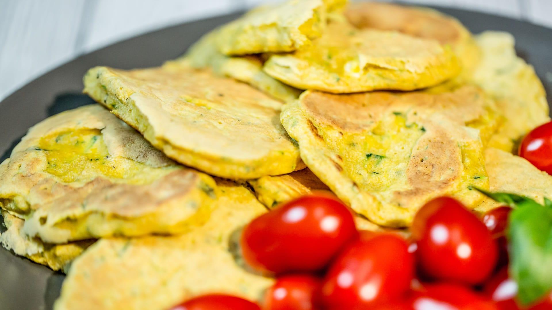 Foto Pancakes di Zucchine
