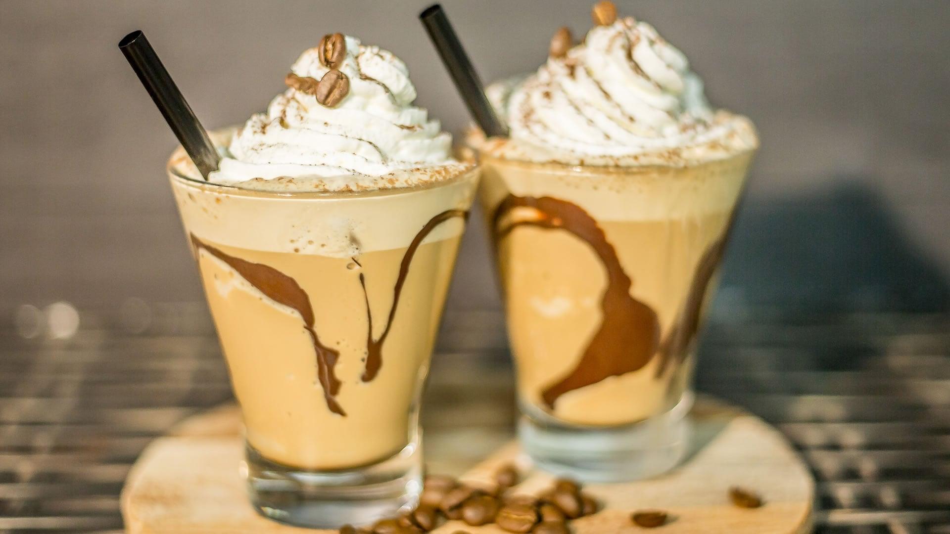 Foto Frappè al Caffè con Panna