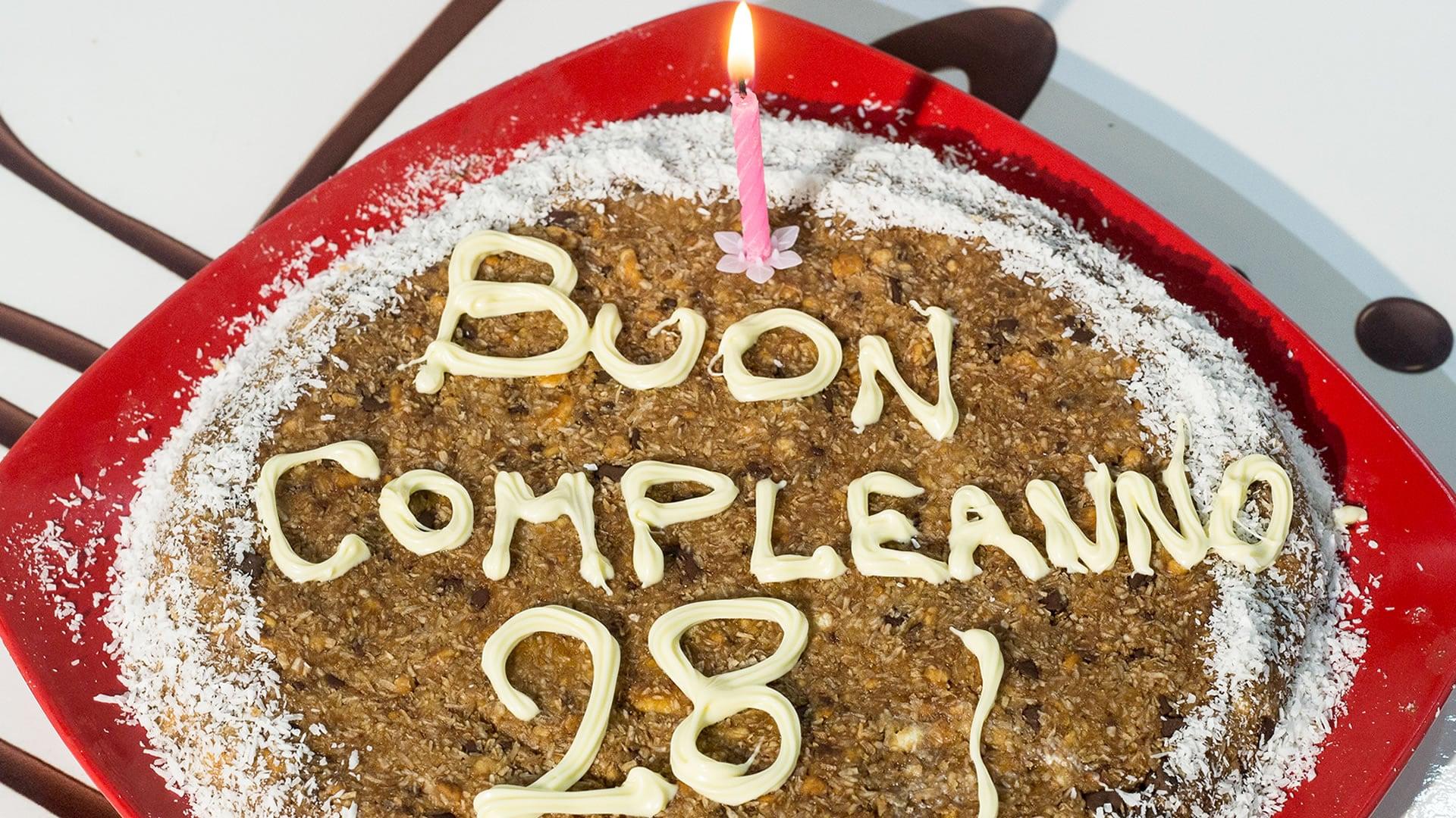 Foto Torta Fredda al Cocco - Dolce di Compleanno Velocissima