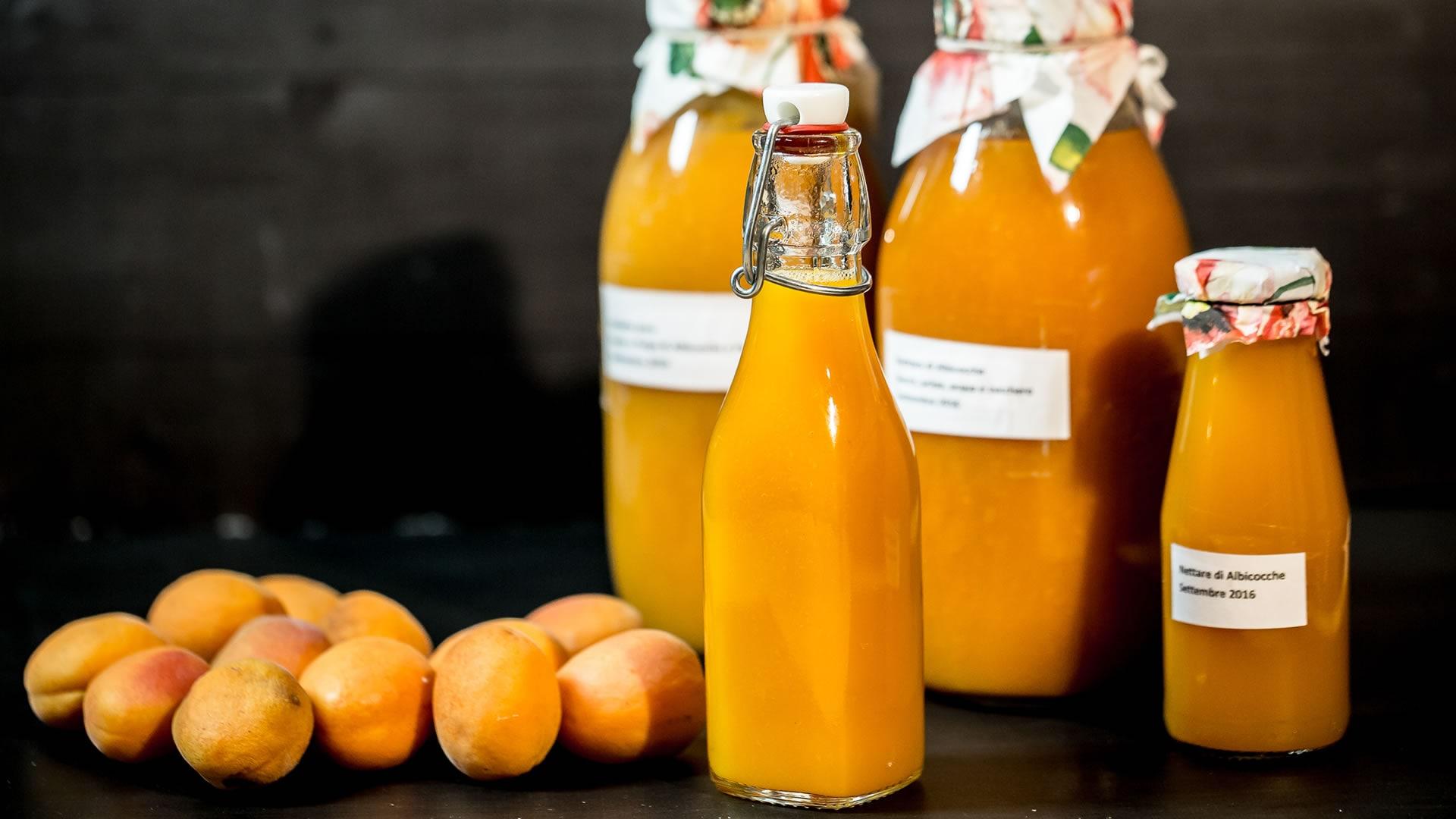 Foto Succo di Frutta Senza Estrattore - Succo di Albicocche