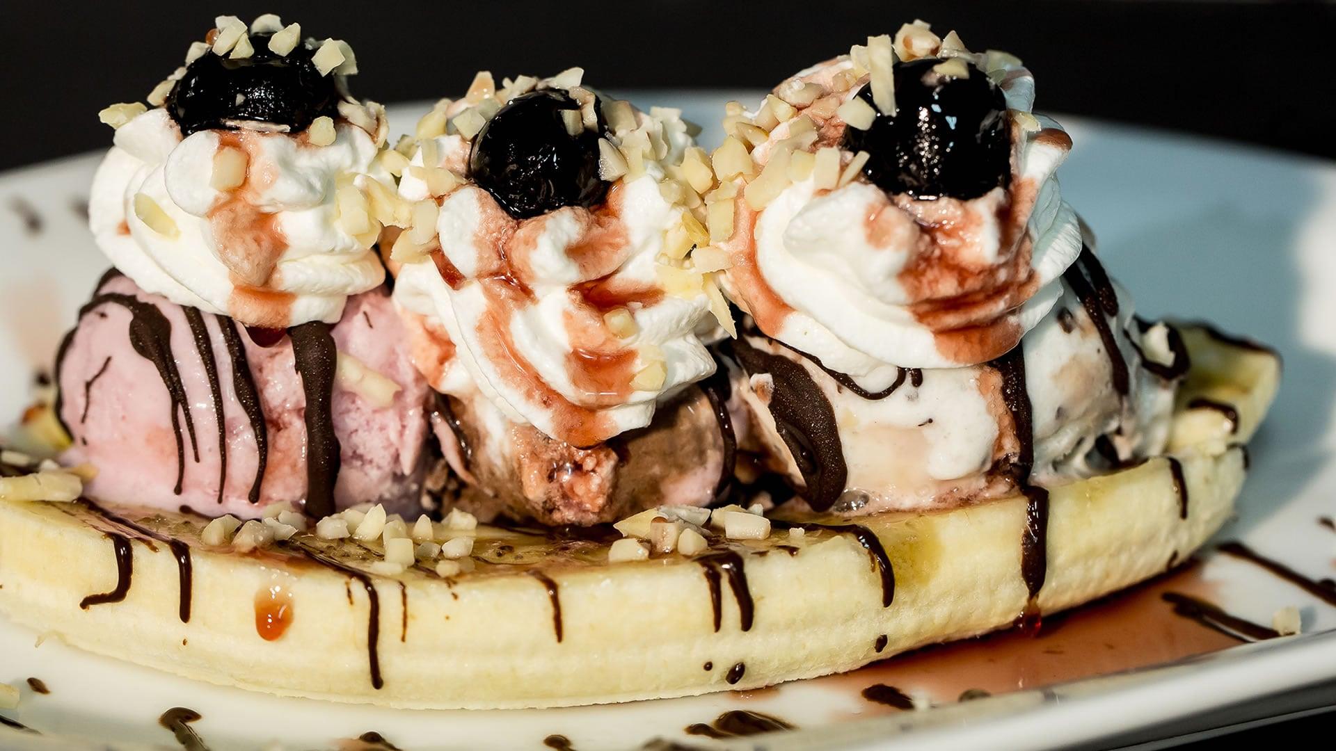 Foto Banana Split