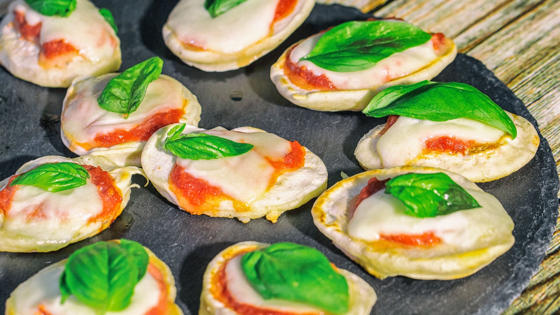 Foto Pizzette Pancakes in 10 minuti