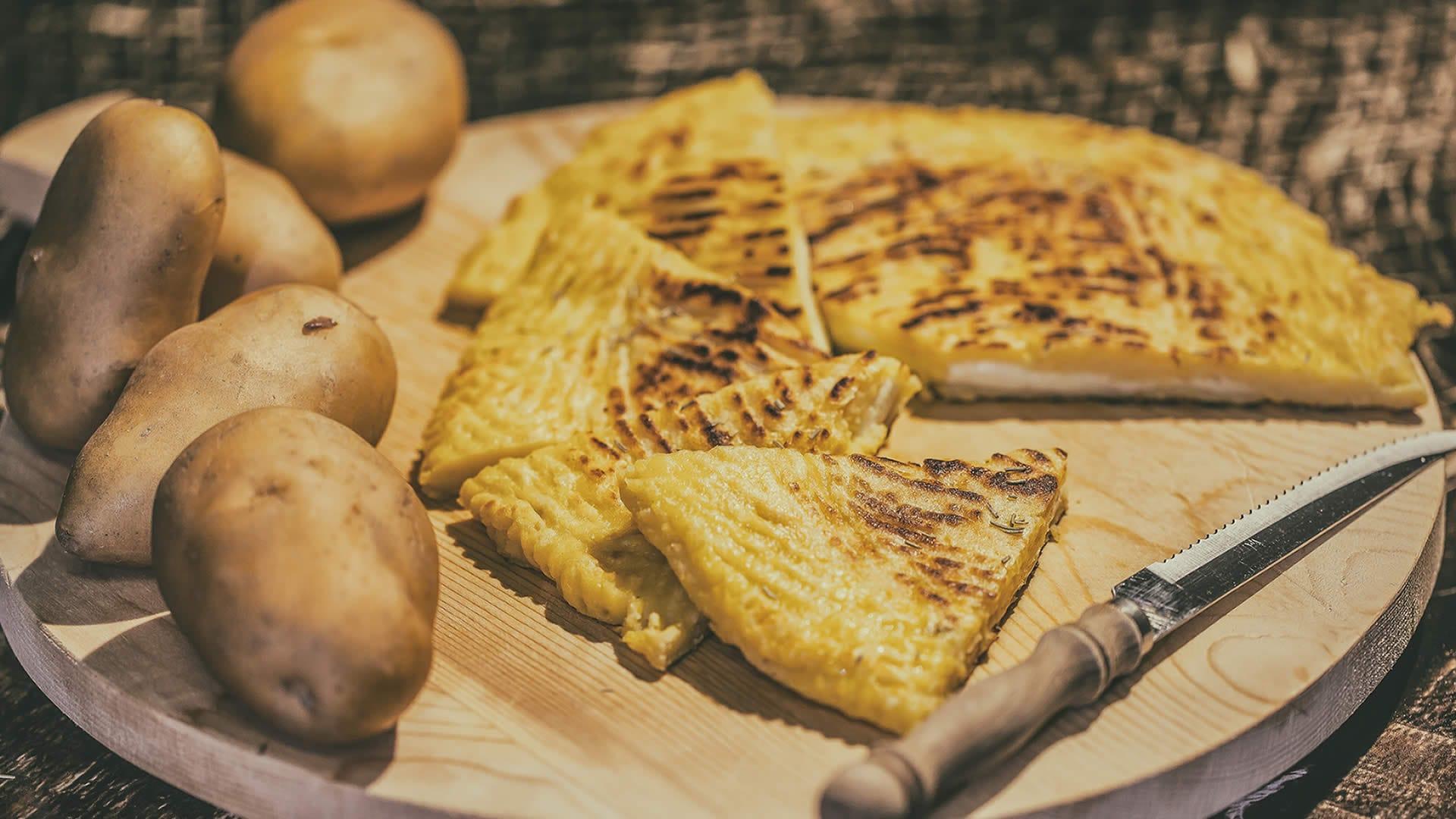Foto Schiacciata di Patate in Padella