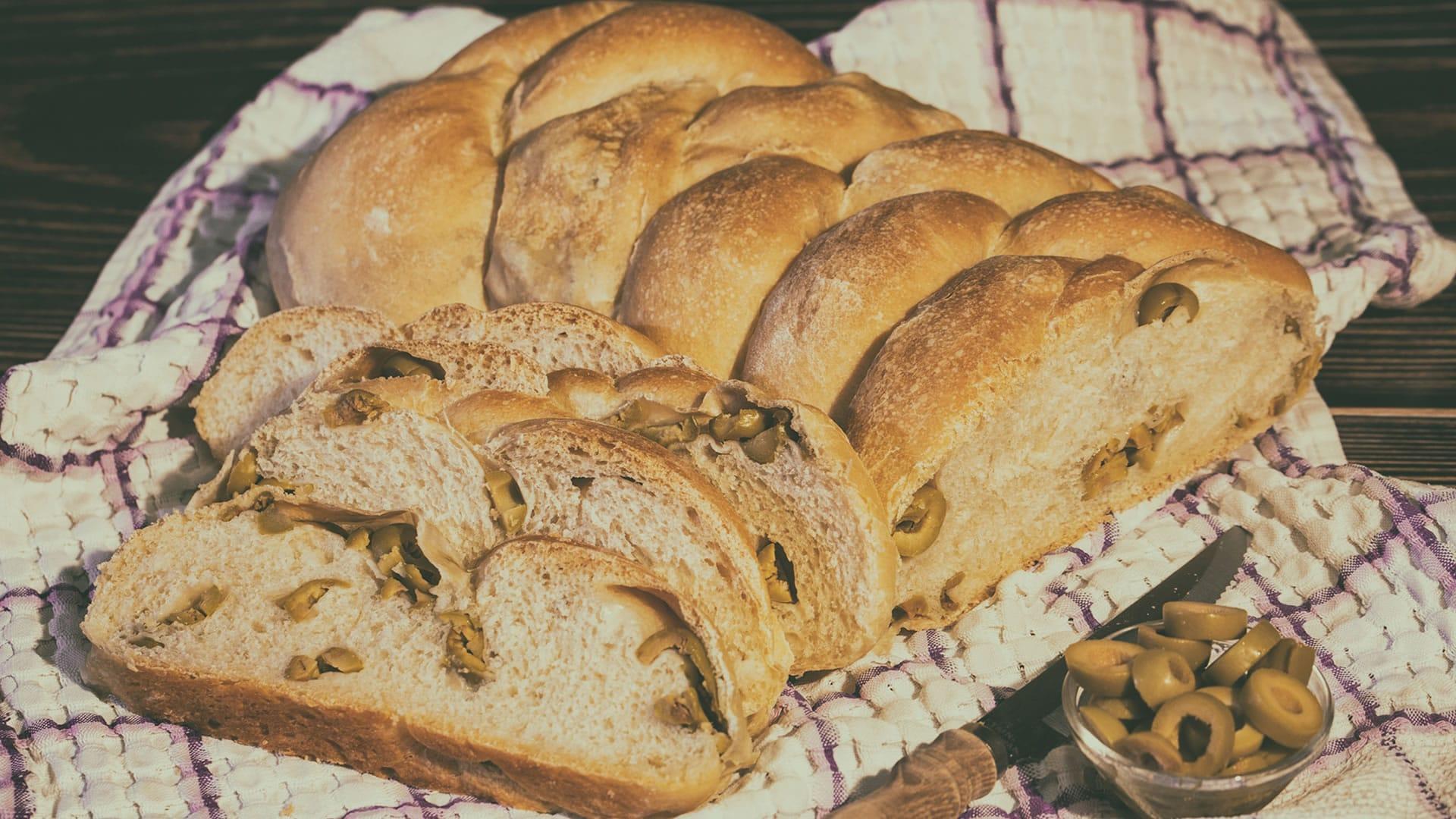 Foto Treccia di Pane alle Olive